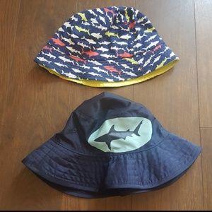 Boys beach hats